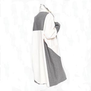Wollmantel shades of grey
