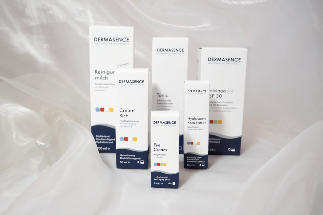 Dermasence, Tonic, Reinigungsmilch, Cream Rich, Eye Cream, Hyaluronsäure, Vitamin C, AHA Effects, Gesichtspflege, Akne, Neurodermitis, Beauty, Skincare, Skin, the-b-u, the beautiful unnecessary, Diana, Diana Paul, Ronny Philp