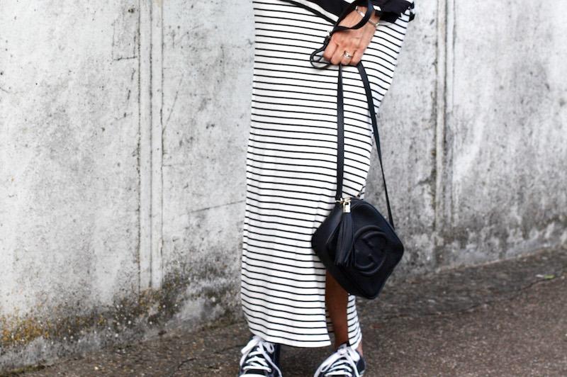 Stilwalk, Diana Paul, Chanel, Fashion, Streifenlook, Chucks, Allstars, Daniel Wellington, Style, Matrosenlook
