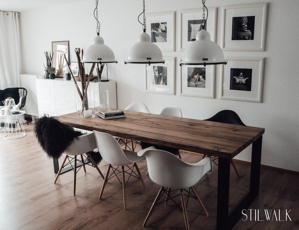 Wir bauen einen Tisch - wie aus unserer alten Eiche unser Esstisch ...
