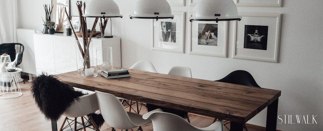 Wir bauen einen Tisch - wie aus unserer alten Eiche unser Esstisch wurde
